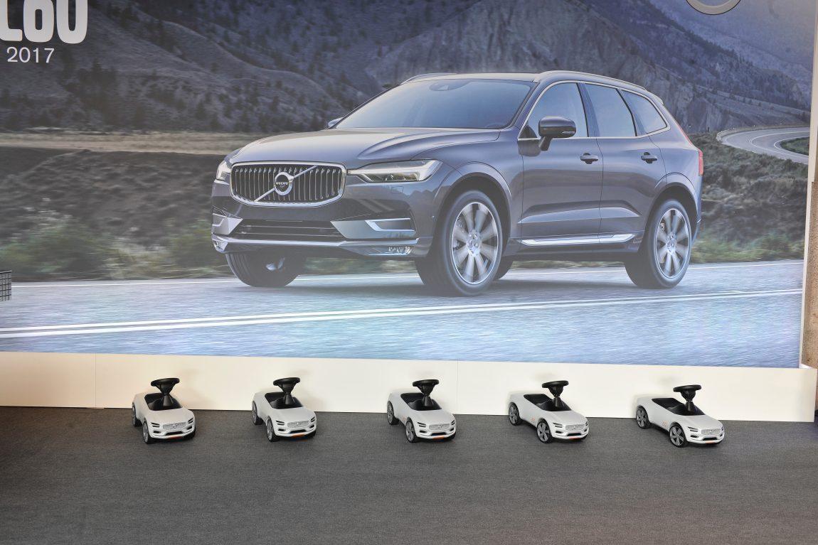 Infos zur Kindersicherheit im Auto & Vorstellung des neuen Volvo ...