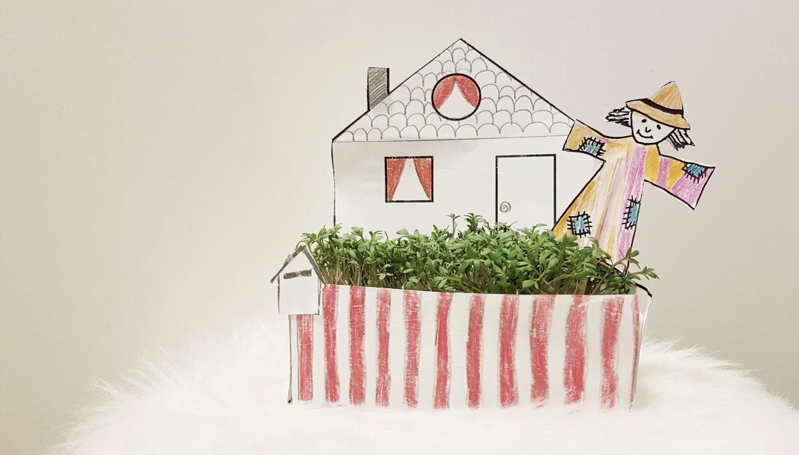 diy ein kressegarten f r kinder miniundmami. Black Bedroom Furniture Sets. Home Design Ideas