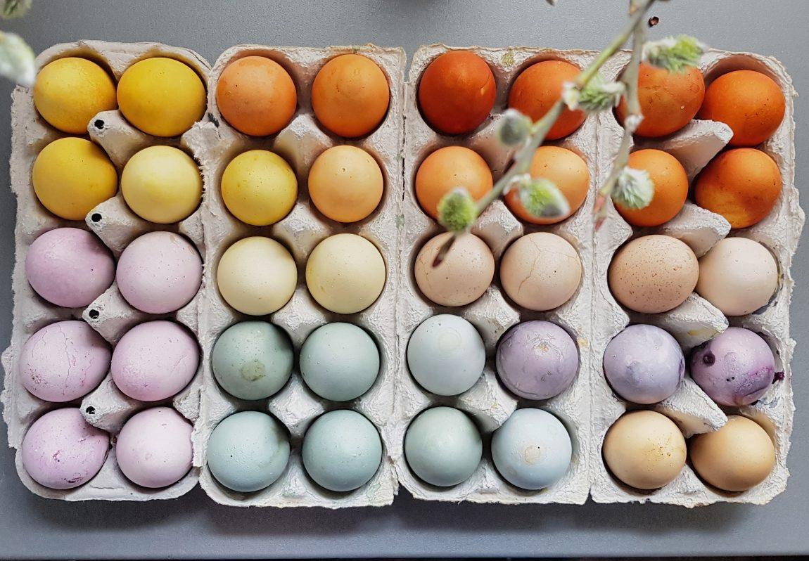 Ziemlich Beste Art Eier Für Ostern Zu Färben Ideen - Malvorlagen Von ...