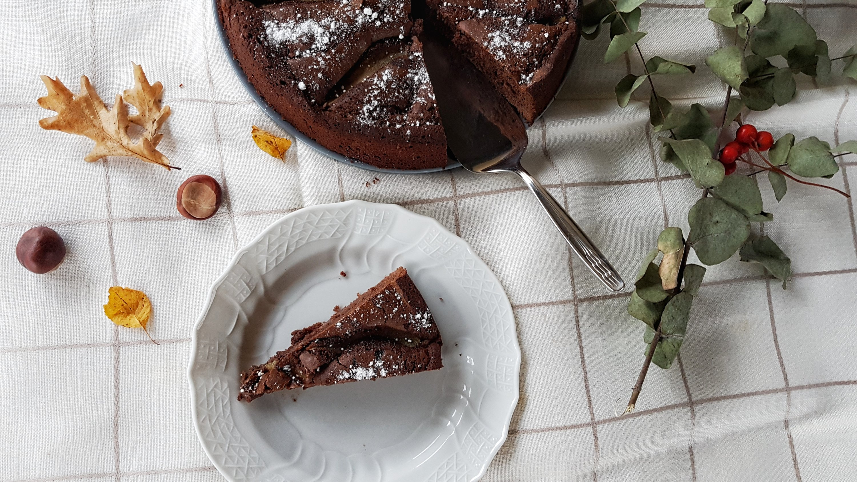 Schoko Birnen Kuchen Schokoladen Birnen Kuchen Birnen Schoko Kuchen